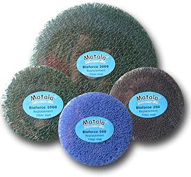 Matala Replacement Filter Pads for Cyprio Bioforce 1000