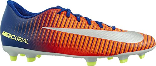 Nike Mens Mercurial Vortex Fg Tacchetta Da Calcio Profondo Blu Reale / Cromata