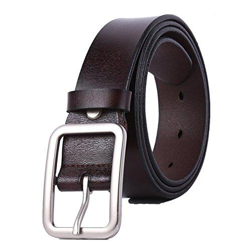 WHIPPY New Arrival Jeans Belt for Women Genuine Leather Belt (Belt Buckle New Cool)
