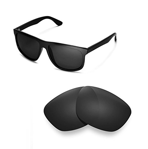 Walleva Replacement Lenses for Ray-Ban RB4147 60mm - Multiple Options (Black - - 60 Polarized Rb4147