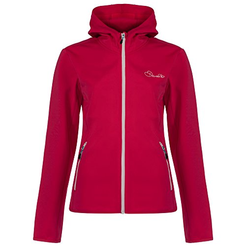 Dare2b Womens/Ladies Courtesy Core Stretch Full Zip Midlayer Hoodie Duchess