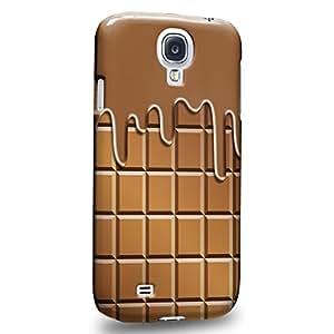 Case88 Premium Designs Art Chocolate Series Melting Chocolate Bar Carcasa/Funda dura para el Samsung Galaxy S4