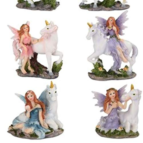 Paykoc Imports 3'' Miniature Faries and Unicorns for Fairy Garden Set of 12 by Paykoc Imports (Image #1)