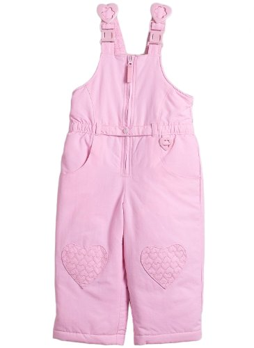 Wonder Kids® Baby and Toddler Snow Parts / Snow Overalls, Color: Pink, Size: 12 mths
