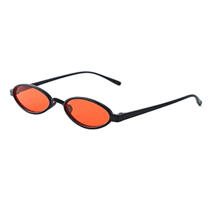Bloodfin Clout anteojos de sol, gafas de sol ovaladas unisex ...