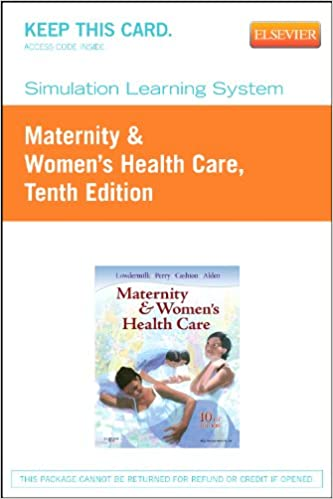 Download Simulation Learning System for Maternity & Women's Health Care (Access Code), 10e PDF, azw (Kindle)