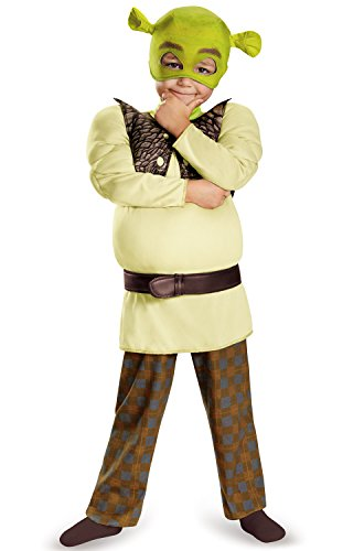 Shrek Toddler Muscle Costume, Large (4-6) -