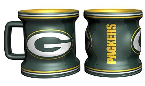 Green Bay Packers Shot Glass - Sculpted Mini Mug