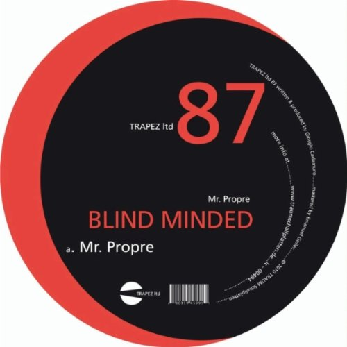 Blind Minded - Mr. Propre