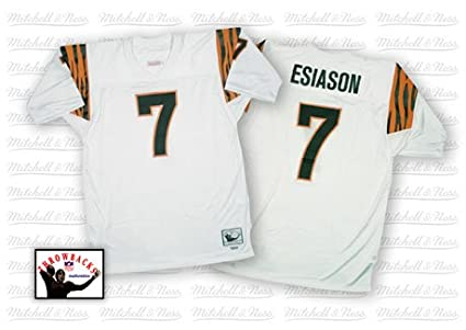 uk availability 3c0c8 de2e9 Amazon.com : Boomer Esiason Bengals 1988 Jersey Mitchell ...
