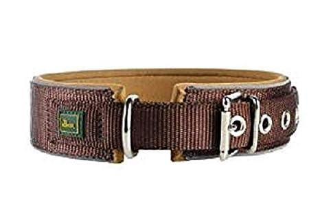 Rojo//Negro para Perros Hunter Collar de Neopreno Reflectante Rojo Tama/ño 60 49-56 cm 45 mm