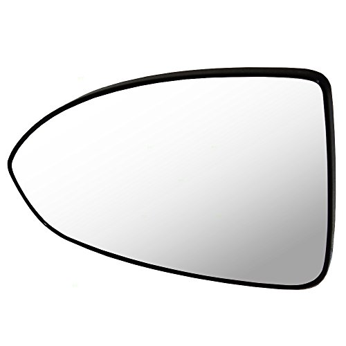 Drivers Side View Mirror Glass & Base Replacement for Chevrolet Cruze & Cruze Limited 95215096 GM1324127
