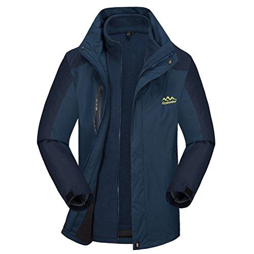 [Timeiya Men's Waterproof Jackets for Mountaineering Outdoor Activities Autumn&Winter] (Male Figure Skater Costume)