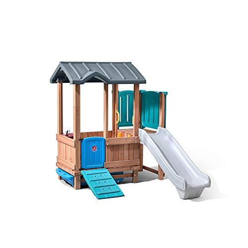 Woodland Adventure Playhouse & Slide (Adventure Playhouse)