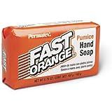Permatex 25575 Fast Orange Pumice Bar Hand Soap, 5.75 oz. Bar