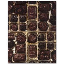 UPC 601952462429, Masterpiece Box of Chocolates 8.5x11 Scrapbook Paper - 50 Sheets