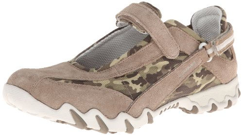 Mary Women's Camouflage Suede Jane by Niro Multi Mephisto Taupe ALLROUNDER Flat fIqTF