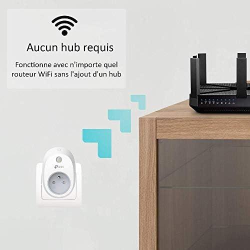 Fonctionne avec e Alexa sans Moyeu Necessaire Google Maison et Ifttt Paquet de 2 Echo et Echo Pois Contr/ôle Votre Appareils de Partout TP-Link Kasa Smart WiFi Prise