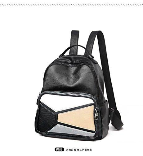Sucastle ® 2018 Borsa a tracolla da donna / vera pelle / Retro / Grande capacità / multifunzione / impermeabile /(25*11*30cm )