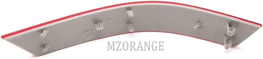 Right Passenger Side MZORANGE Rear Bumper Reflector Light Cover Lens For Mercedes-Benz W164 ML350 ML550 2008 2009 2010 2011 Stop Brake Light Cover