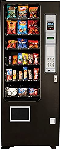 AMS Glass Front Snack Vending Machines Slim Gem Brand New (MADE IN AMERICA) - 624 Systems