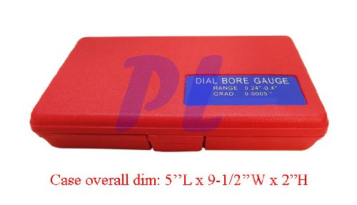 0.24-0.4 Dial Indicator Bore Gage Set .0005 GRAD Gauge Engine Cylinder Hole