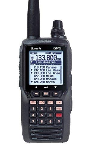 Yaesu FTA750L Handheld VHF Transceiver / GPS (Best Handheld Aviation Transceiver)