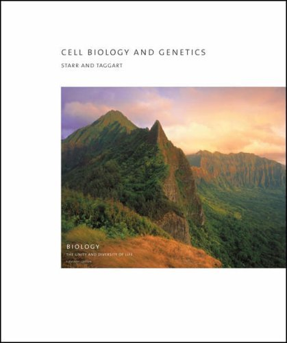 Read Online Cell Biology and Genetics (with BiologyNOW?-How Do I Prepare/vMentor?, InfoTrac 2-Semester, iLrn? Printed Access Card) (Brooks/Cole Biology) 11th edition by Starr, Cecie, Taggart, Leslie (2005) Paperback pdf epub