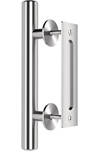 Premium Stainless Steel Modern Barn Door Handle 12