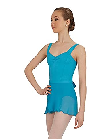 Capezio Dance Women's Wrap Skirt,Jet Blue,US M/L - Capezio Wrap Skirt