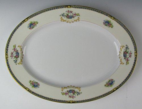 Noritake China ROMANCE-76835 Oval Serving Platter 11