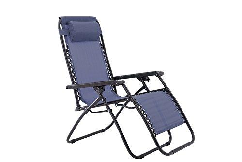 Oversized Zero Gravity Chair - Blue