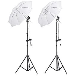 Neewer® 400W 5500K Photo Studio Continuous Lighting Umbrellas Kit for Portrait Photography,Studio and Video Shooting