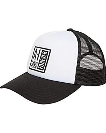 e2ece39a6e765 Amazon.com  Billabong Men s Stamp Trucker Hat Black White One Size  Clothing