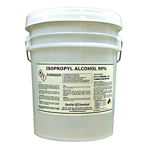 Isopropyl Alcohol Grade 99% Anhydrous (IPA)-5 gallon pail ()