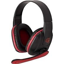 Headset Gamer para Xbox 360 Spider Tarantula SHS-702, Fortrek, Microfones e Fones de Ouvido, Preta/Vermelho