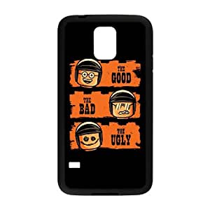 Samsung Galaxy S5 Cell Phone Case Black Good Cop Bad Cop Ugly Cop Zjwvn