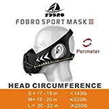 FDBRO Workout Mask Sports Training Mask