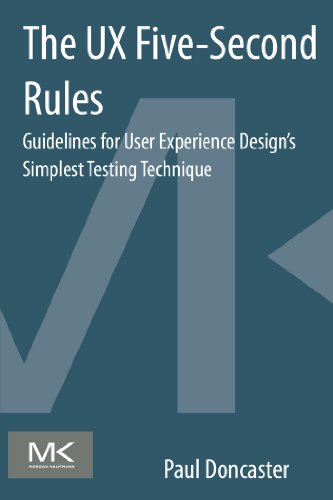 Download The UX Five-Second Rules: Guidelines for User Experience Design's Simplest Testing Technique Pdf