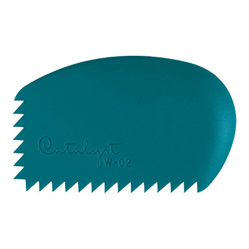 Princeton Artist Brush Catalyst Silicone Wedge Tool, Blue W-02