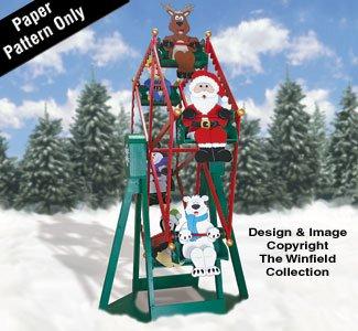 Christmas Ferris Wheel and Riders Plan (Christmas Ferris Wheel)