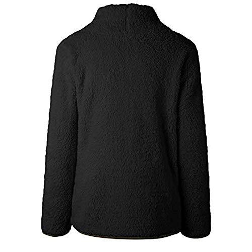 Pull Robe Chandails Tricot Femme Loose Automne Cebbay Printemps Pour Tops Col Roulé Casual Manches Noir Longues À Hiver Fille Longue Manteau BSqxw5d
