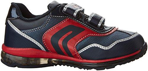 Zapatillas para ni�o, color Azul , marca GEOX, modelo Zapatillas Para Ni�o GEOX B TODO B. A Con Luces Azul