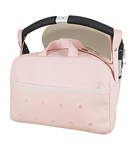Borsa per neonati, in ecopelle, colore: rosa Danielstore