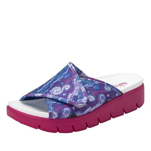 - Alegria Airie Womens Sandal Such A Monet Multi 11 M US