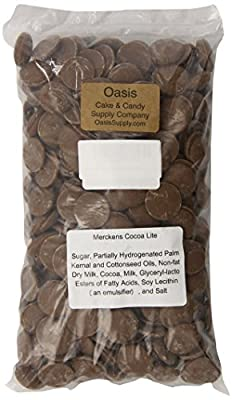 Merckens Milk Chocolate 2 Pounds by Oasis Supply