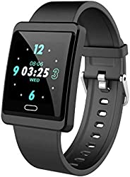Mgaolo Fitness Tracker HR,Smart Watch Montre Intelligente Activity Tracker with Adjust Brightness Screen,IP68