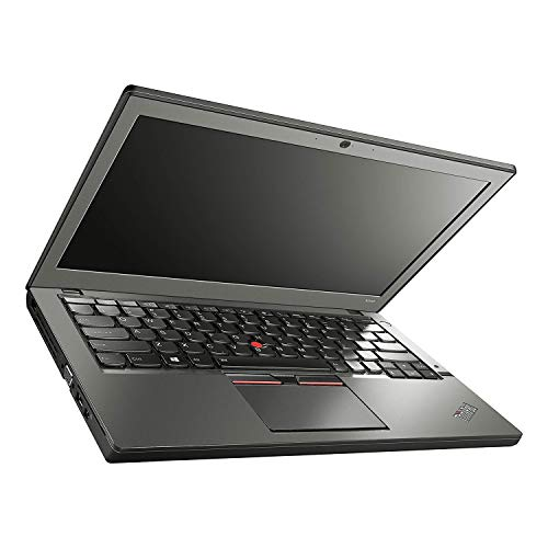 (Renewed) Lenovo Thinkpad X250 12.5-inch Laptop (Core I5 5th Gen/8 GB/256 GB SSD/Windows 10/MS Office Pro 2019/Integrated Graphics), Black