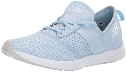 New Balance Girls' Nergize V1 FuelCore Sneaker air/Munsell White 6 W US Toddler