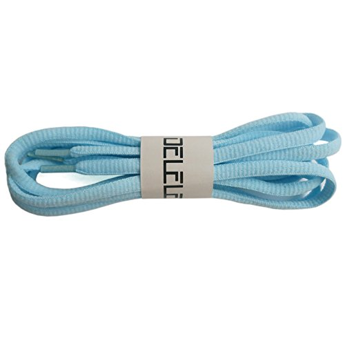 light blue laces - 4